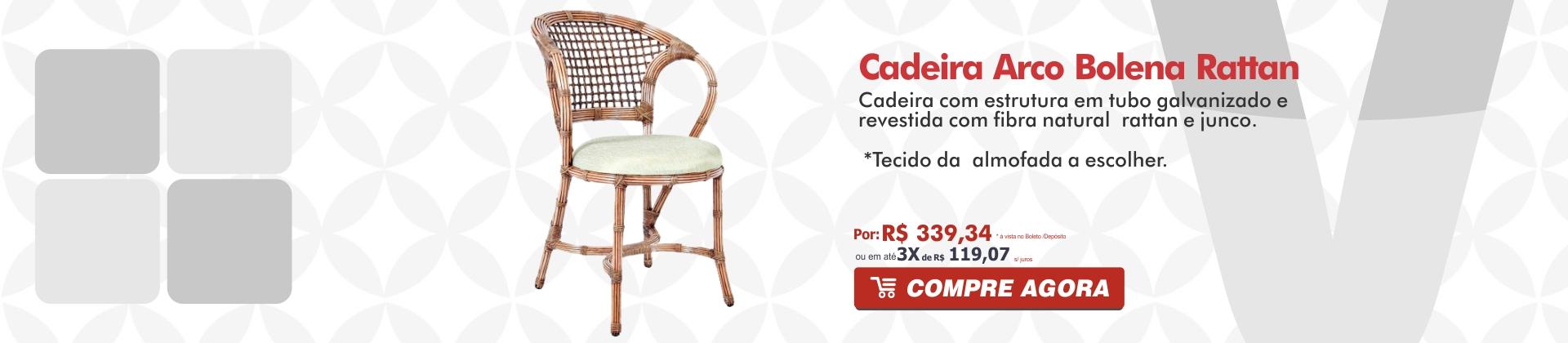 Cadeira Arcobolena Rattan